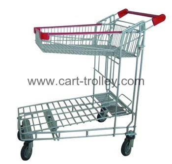 WT-2, double layers transport trolley