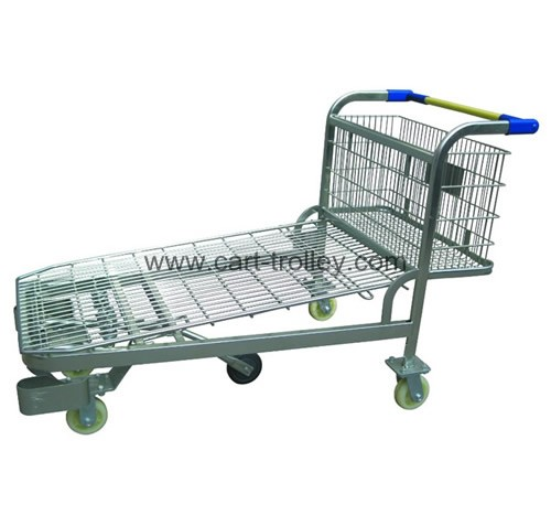 Stock trolley with 5 wheels