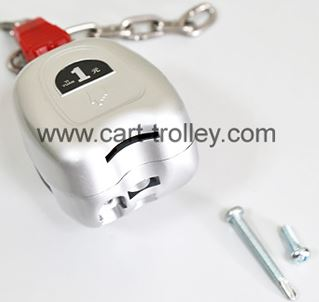 coin lock for supermarket trolley