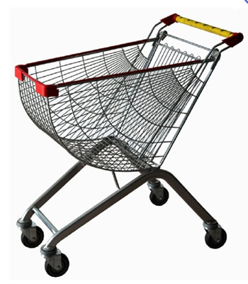 Sector supermarket trolley