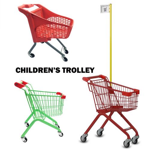 Kids supermarket trolley, Kids grocery cart